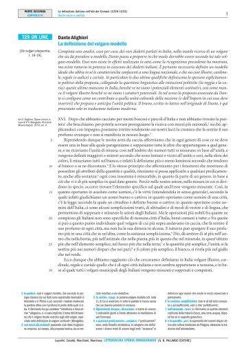 T29 ON LINE Dante Alighieri La definizione del ... - Palumbo Editore