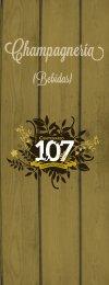 Vea Nuestro Menu de Bebidas - Centenario 107- Cervecería