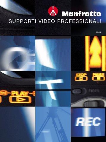 SUPPORTI VIDEO PROFESSIONALI - Il corto.it