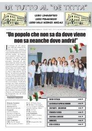 Giornalino magistrale de titta 2011.indd - Portale Sangro Aventino