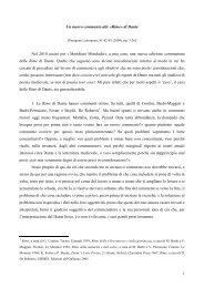 Un nuovo commento alle Rime di Dante - Claudio Giunta