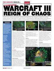 Warcraft III – Soluzione Parte 2 - SteFactory