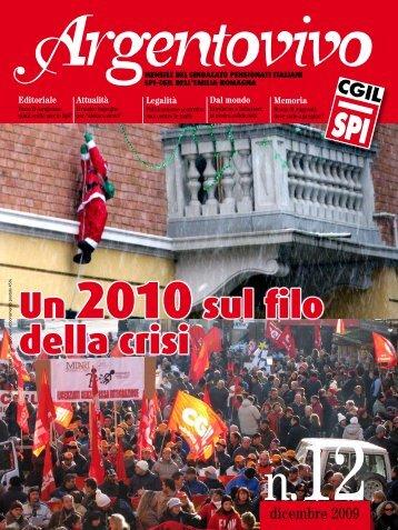 Argentovivo - dicembre 2009 - Spi-Cgil Emilia-Romagna
