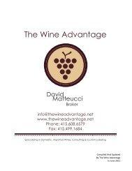The Wine Advantage