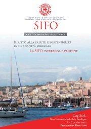 Programma definitivo - Sifo