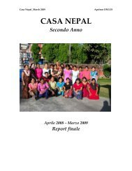 report casa nepal anno ii - Apeiron