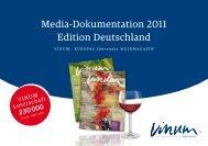 Media-Dokumentation 2011 Edition Deutschland - Vinum