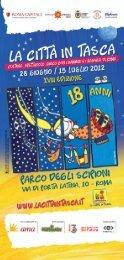 Brochure La Città in Tasca 2012
