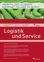 Der Flyer Logistik und Service als PDF - vogt-gruppe