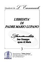 Libretto San Giuseppe - Associazione FIDES ONLUS