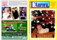 L'Aurora N. 14 - Dicembre 2007 - Il Giornale della Piana di Gioia Tauro