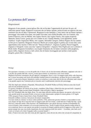 SCARICA LA POTENZA DELL'AMORE di Francesca Privitera