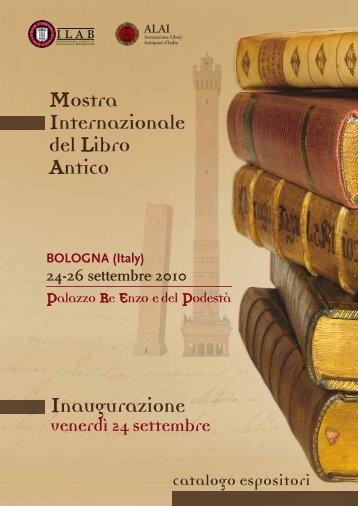 Catalogo Bologna - Libreria Antiquaria Pregliasco