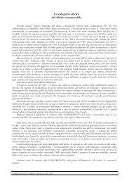 La categoria storica del diritto commerciale - Studium