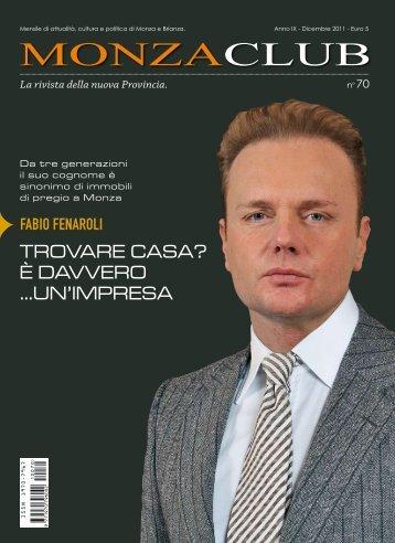 La rivista della nuova Provincia. - Monza Club
