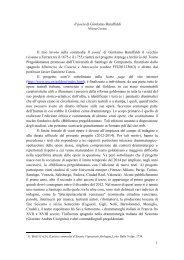 Contini, Milena, Il poeta di Girolamo Baruffaldi, 2012. - Universidade ...