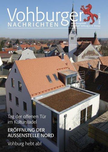 März 2013 - Stadt Vohburg