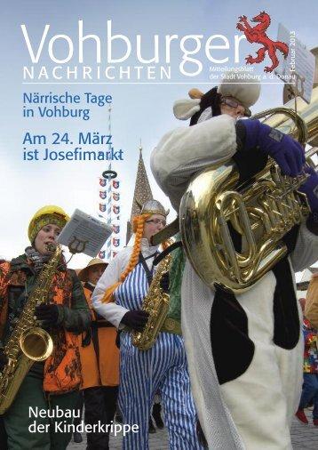 Februar 2013 - Stadt Vohburg