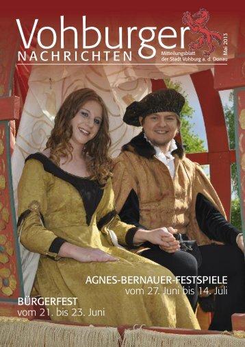 Mai 2013 - Stadt Vohburg