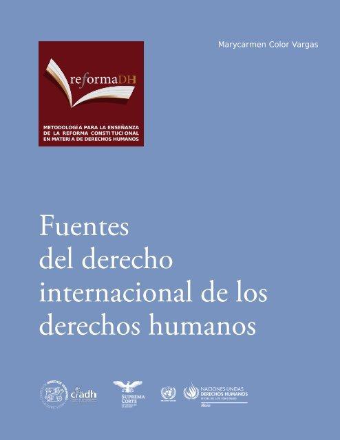 Fuentes del derecho internacional de los derechos humanos