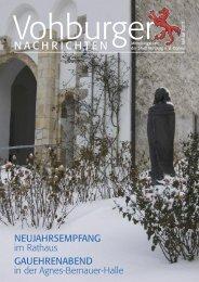Januar 2013 - Stadt Vohburg