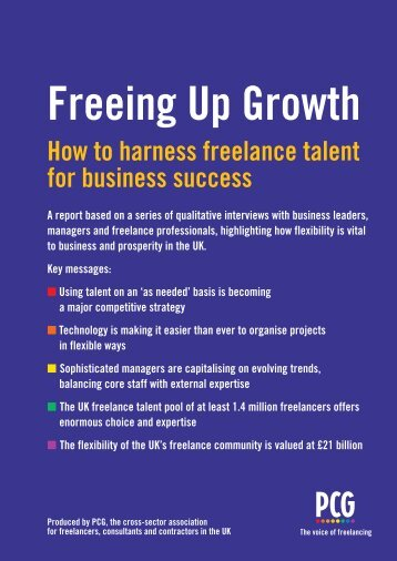 Freeing Up Growth