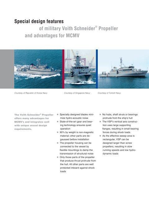 MCMV propulsion requireme