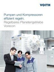 Pumpen und Kompressoren effizient regeln ... - Voith Turbo