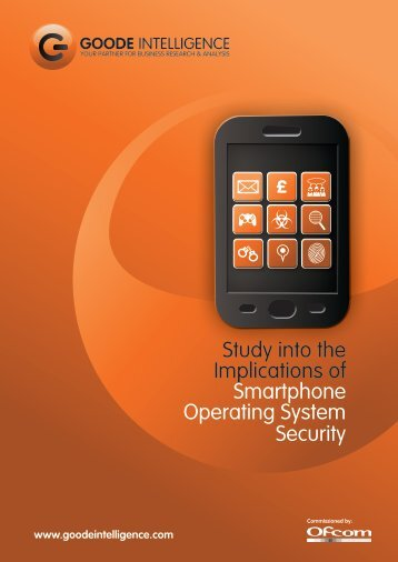 Study into the Implications of Smartphone Operating System Security