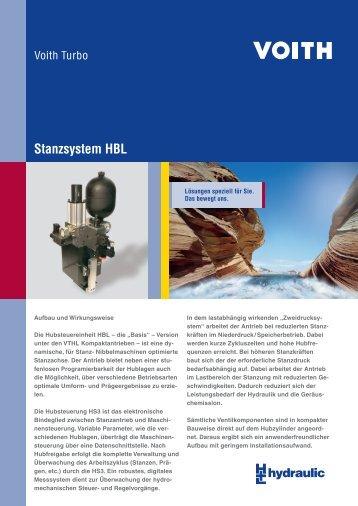 Stanzsystem HBL - Voith Turbo