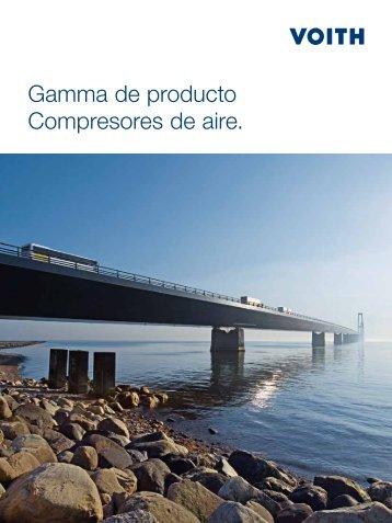 Gamma de producto Compresores de aire. - Voith Turbo