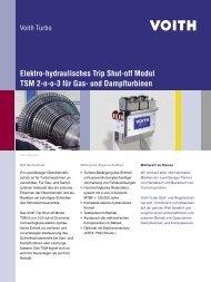 Elektro-hydraulisches Trip Shut-off Modul TSM 2-o-o-3 ... - Voith Turbo
