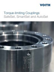 Torque-limiting Couplings SafeSet, SmartSet and ... - Voith Turbo