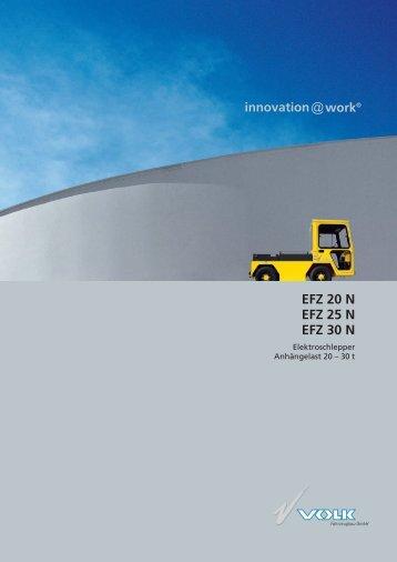 VOLK Elektroschlepper EFZ 20 N - VOLK Fahrzeugbau GmbH