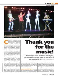 Thank you for the music! - Diana-Florina Cosmin