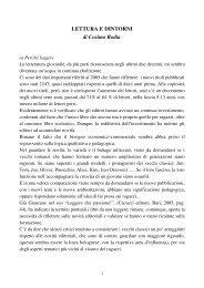 """""""LEGGERE E… - L'Aquilone"""