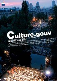 Lettre info 150.qxp - Ministère de la Culture et de la Communication