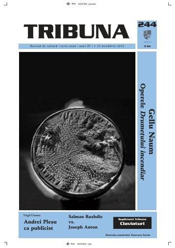 Numarul 244 - Revista Tribuna