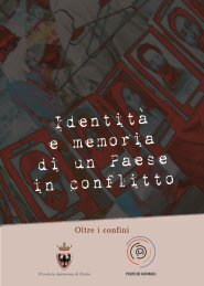 Oltre i confini - Politiche giovanili - Provincia autonoma di Trento