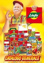 Catalogo generale prodotti per la cura delle piante LINFA
