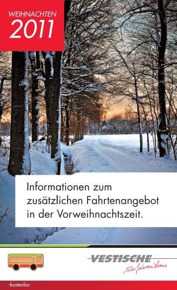 NachtExpress - Vestische Straßenbahnen GmbH