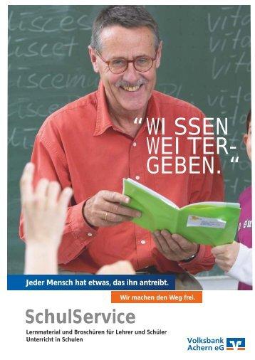 SchulService - Volksbank Achern eG