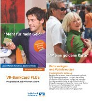 VR-BankCard PLUS - Volksbank Stuttgart eG