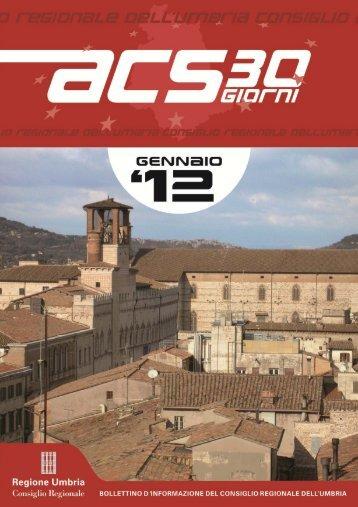 PAG 1 - Consiglio Regionale dell'Umbria - Regione Umbria
