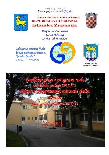 """REPUBLIKA HRVATSKA - """"Galileo Galilei"""" Umag"""