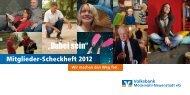 """""""Dabei sein"""" - Volksbank Möckmühl-Neuenstadt eG"""