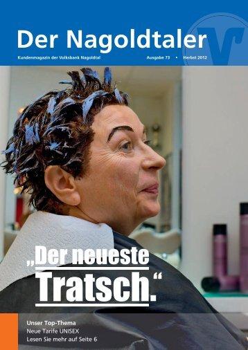 Der Nagoldtaler - Volksbank Nagoldtal eG