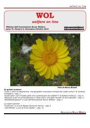 Scarica il numero 6 di WOL!! - Associazione Nuovo Welfare