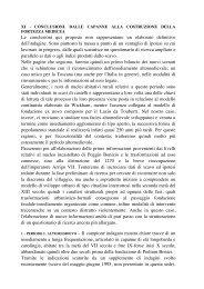 M. VALENTI, Conclusioni. Dalle capanne alla costruzione della - BibAr