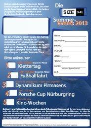 Anmeldebogen zu den Summer Events 2013 - Volksbank Eifel Mitte ...